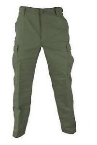 Us Army Propper Bdu Military Pants Pantalon Pantalon Twill Olive Green Small Short-afficher Le Titre D'origine Finement Traité