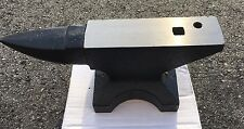 New Rod Iron Hardy Hole Blacksmith Step Horn 20# Pound Solid FORGED STEEL ANVIL