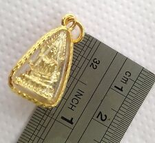 Buddha's Sacred Thai Amulet Pendant blessed by Monks for Luck Wealth & Love (02)
