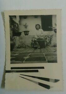 1950s-Vintage-Malaya-Penang-Melaka-Singapore-Baba-Nyonya-Peranakan-Photo-6-Lady