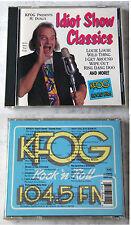 KFOG PRESENTS IDIOT SHOW CLASSICS Nervous Norvus, Trashmen,... Rhino CD TOP