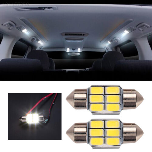 LED Indoor Light Reading Light Bulb White Dome Lamp Car Roof Beads Automotive
