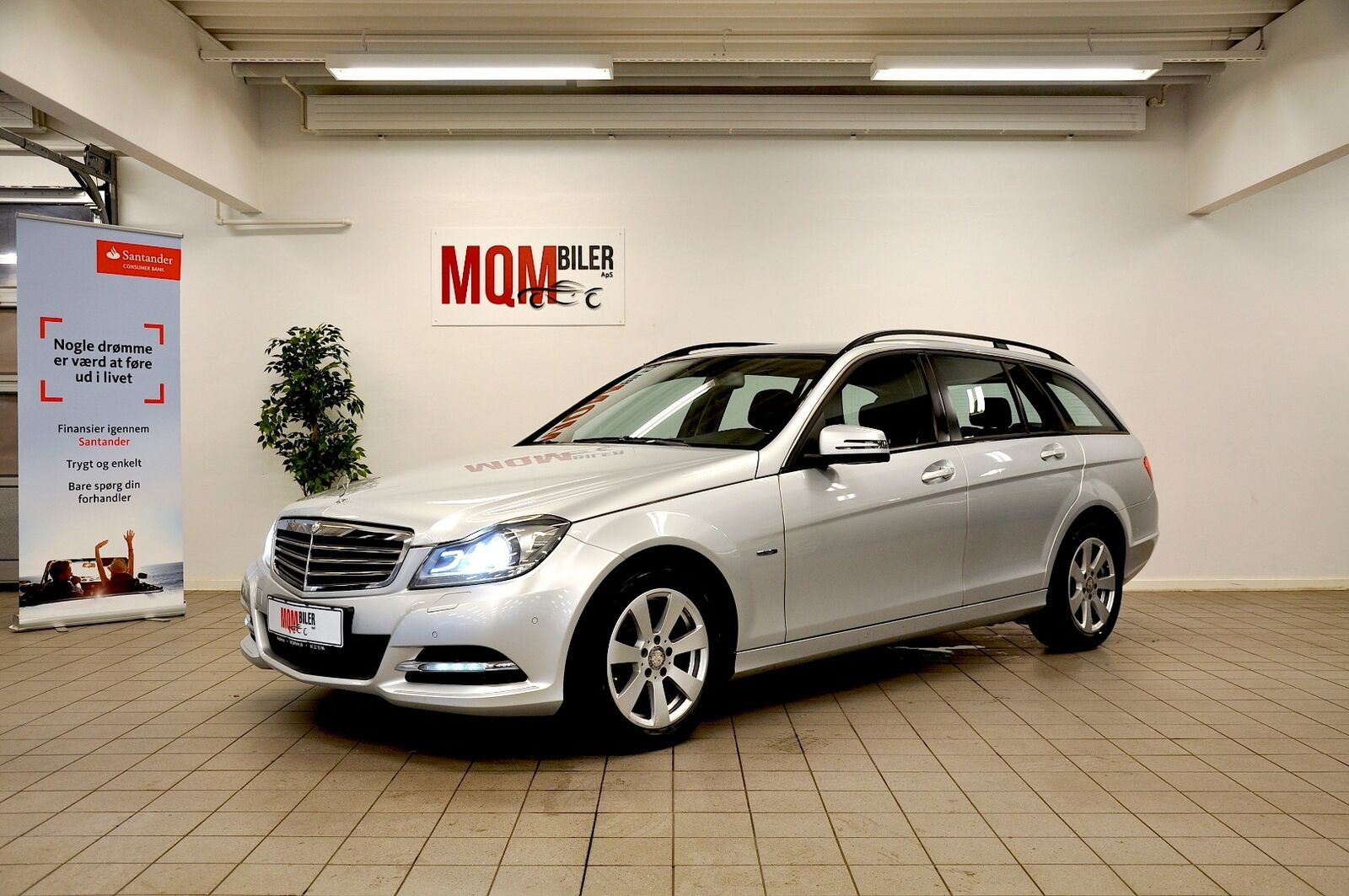 Mercedes C250 2,2 CDi stc. aut. 4-M BE 5d - 194.900 kr.