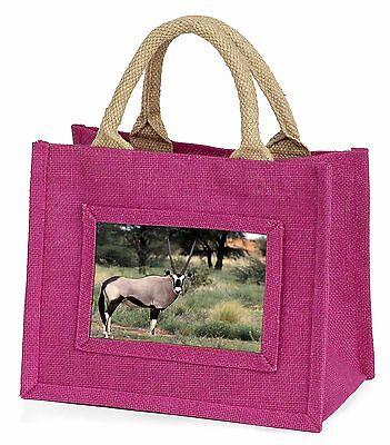 Africa Animals 'oryx' Little Girls Small Pink Shopping Bag Christmas G, Gaz-1bmp Famoso Per Materie Prime Di Alta Qualità, Gamma Completa Di Specifiche E Dimensioni E Grande Varietà Di Design E Colori