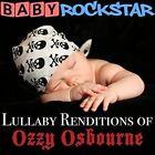 Lullaby Renditions Of Ozzy Osbourne - Baby Rockstar (2014 CD Neu)