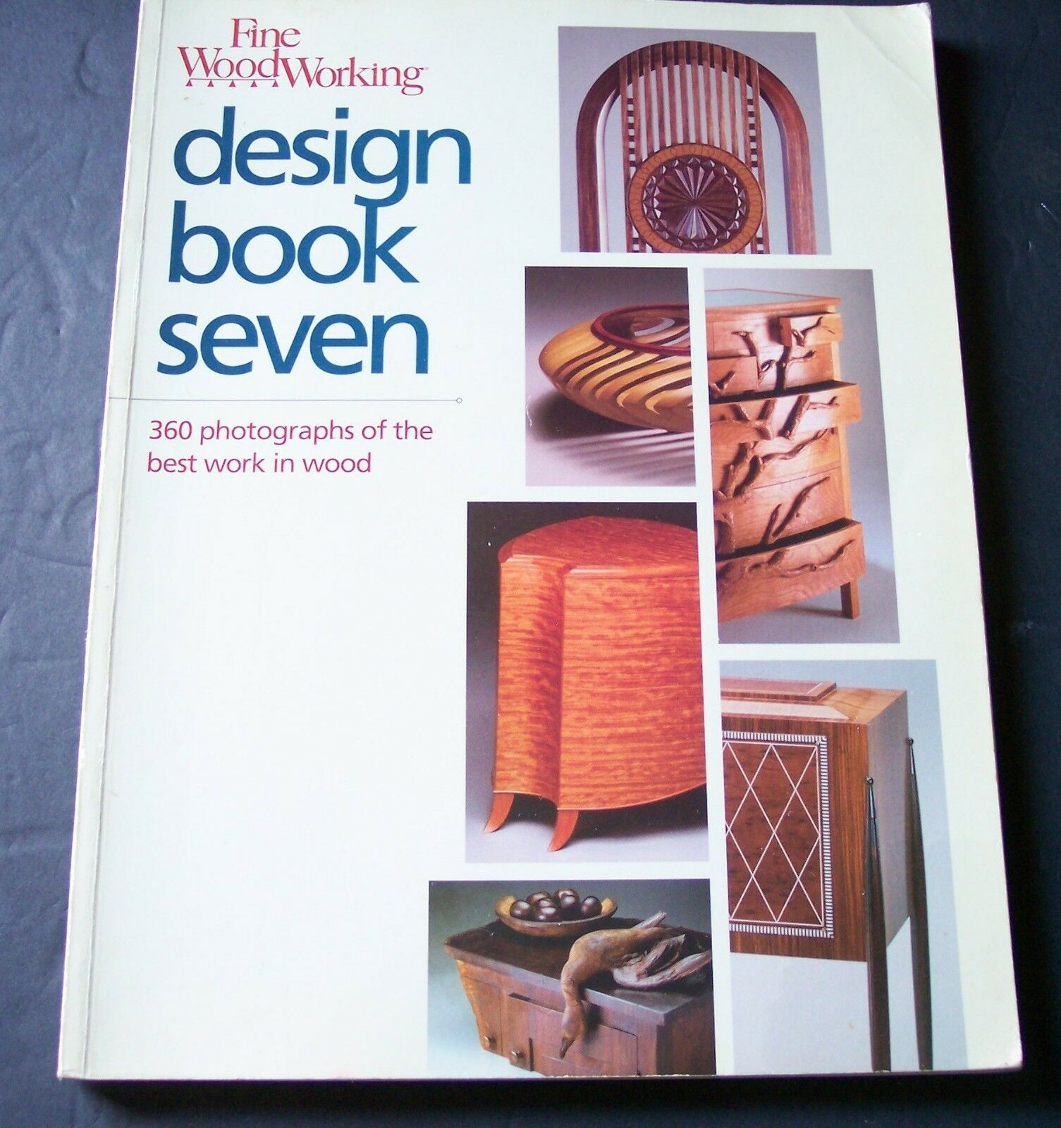 fine woodworking design book seven 360 photographs of the best work in wood  bks