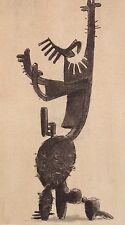 JULIO Gonzalez montato POCHOIR Print, Museum, 1957, Jacomet, PICASSO interesse