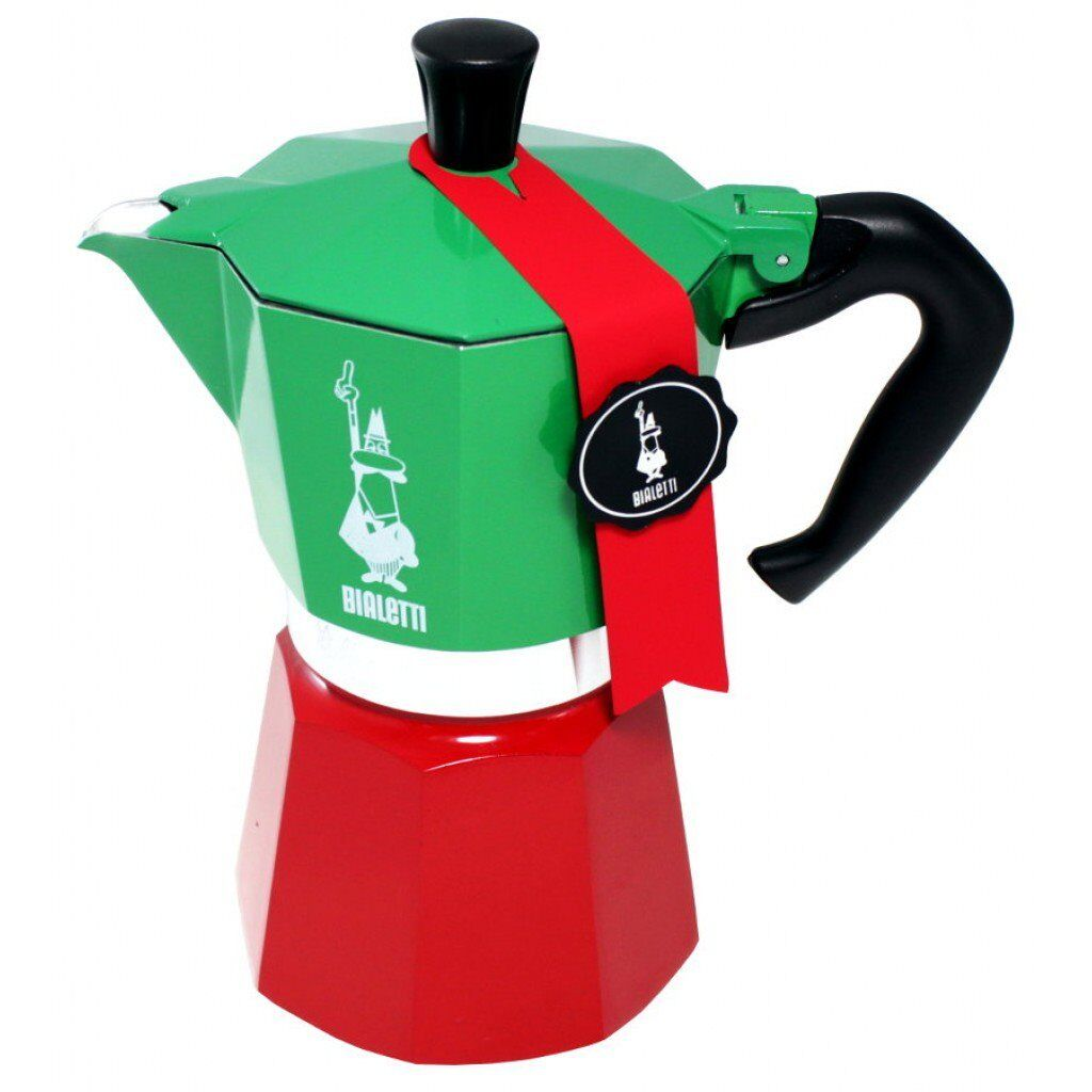 Bialetti Tricolore New Moka Express 3 Cup Limited