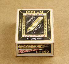 Germany Brause & Co Iserlohn No 660 Vintage Pen Nibs Sealed Pack New Old Stock
