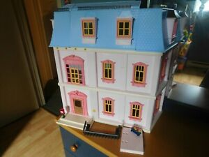 PLAYMOBIL-5303-Dollhouse-Playset-Incomplete-For-parts