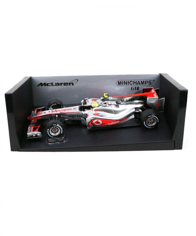 New MInichamps 1 18 Vodafone McLaren Mercedes MP4-25 Lewis  Hamilton 2010 Japan