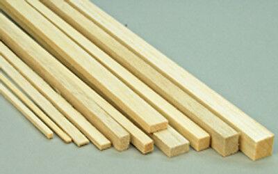 """Balsa Wood Balsa Strip 12"""" (305mm) Long Select Dimensions Pack of 42"""