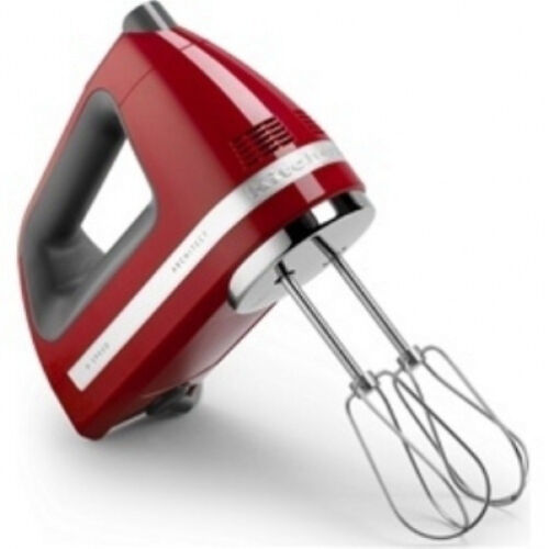 KitchenAid Digital hand mixer 9 Speed khm920er Red Digital Display Powerful
