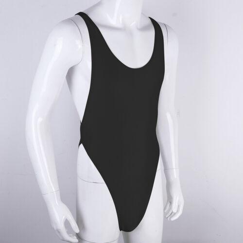 Men/'s Sexy//sissy Lingerie Crossover Thong Bodysuit Leotard Jumpsuit Underwear