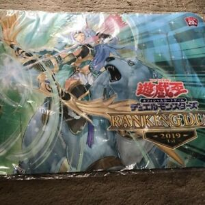 Yugioh Japanese Diabolos Official Playmat RANKING DUEL 2018 1st Sealed VERY RARE