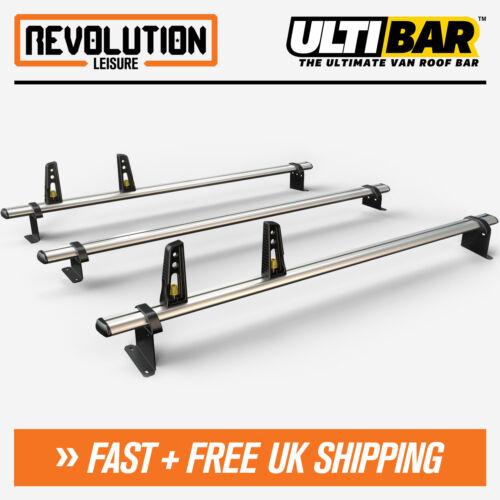 Mercedes Vito Roof Rack Ladder Bars 3 x Van Guard ULTI Bar Aluminium 2003+
