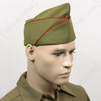 Ww2 Us Px Type Garrison Cap - Artillery - Repro Military Army Usa American Hat