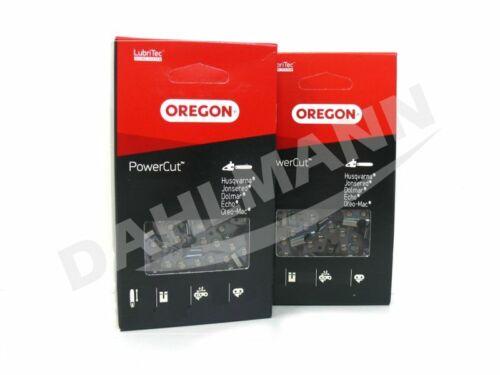 2x OREGON PowerCut™ Vollmeißel Sägekette 37 cm für STIHL MS 291