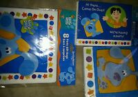 Blues Clues Party Supplies Invitations Gift Bags Napkin Blues Clues Print