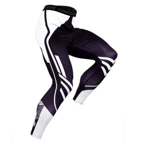 Men/'s Compression Baselayer Legging Running Basketball Camo Quick Dry Tight fit