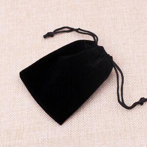 Velvet Jewellery Drawstring Gift Bag Size 8 x 5 x 0.5 cm