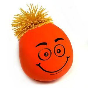 Copieux Palpi Smiley Avec Cheveux En Caoutchouc Jouet-fidget Stress Jouet Sensoriel Autisme Tdah-afficher Le Titre D'origine