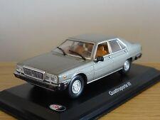 LEO MASERATI QUATTROPORTE III GREY 1983 CAR MODEL HD44 1:43