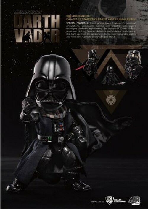Star Wars Egg Attack Darth Vader Exclusive Action Figure EAA-002