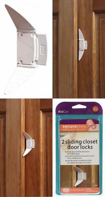 2 Count KidCo Sliding Closet Door Lock