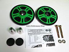"Team Arctic Cat Green Rear Idler Wheel Kit 7.12"" 2012-2017 ZR F 129"" 6639-618"