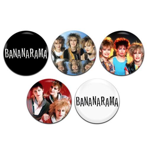 5x Bananarama Pop Dance New Wave Band 25mm 1 Inch D Pin Button Badges