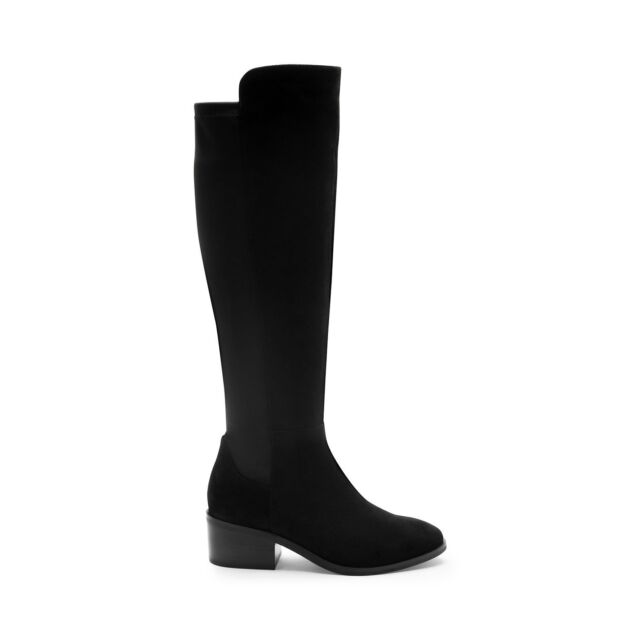 61923b93c0d Buy Blondo Women s Gallo Knee High Boot Black Suede 6.5 M US online ...