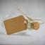 thumbnail 4 - Set of 12 Mini Glass Bottles Perfect for Wedding Favours & Decoration M&W