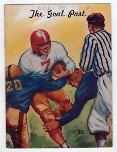 1947 Ucla Washington Uw Huskies College Football Programme Ncaa Los Angeles
