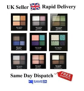 RRP-8-99-Revlon-ColorStay-Eyeshadow-Quad-Palette-Sealed-14-shades