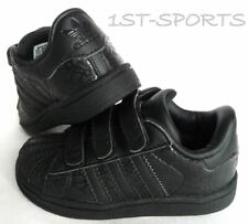 purchase cheap 07439 8c44f ADIDAS TRAINERS INFANTS SUPERSTAR 2 CMF VELCRO BLACK KIDS TRAINERS, SHOES,  UK 5