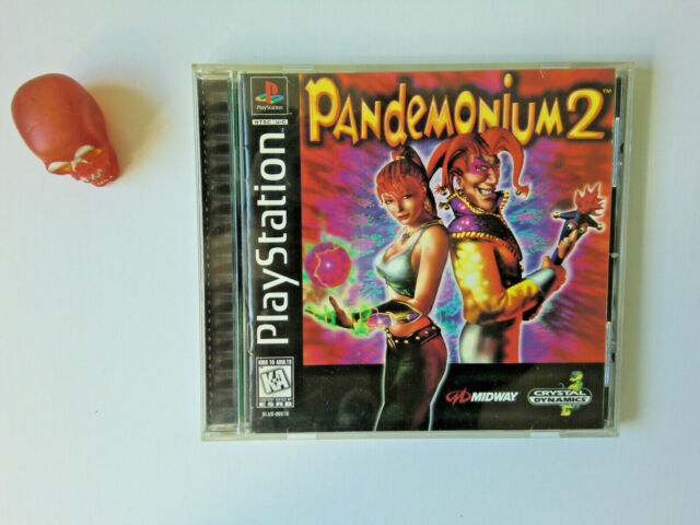 PANDEMONIUM 2 OCC/USED Sony PlayStation 1 ONE PS1/PS2/ps3 Import USA/CANADA