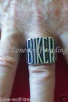Stainless Steel biker Ring-men's- Sr2223-jc