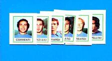 CALCIATORI 1974-75 Panini - Figurina-Sticker n. 563 a+b+c+d+e+f - COMO -Rec