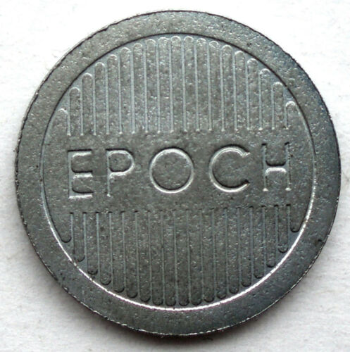 GG3.2 EPOCH CROWN Arcade Token 18mm 2.8g Nickel Plated Steel
