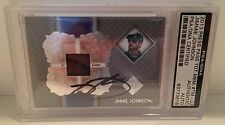 2013 Press Pass Jimmie Johnson Race Pit Banner Signed Card PSA/DNA Slabbed