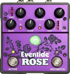 Eventide-Rose-Delay-Effect-Pedal-for-Guitar-Bass-NEW-Authorized-Dealer