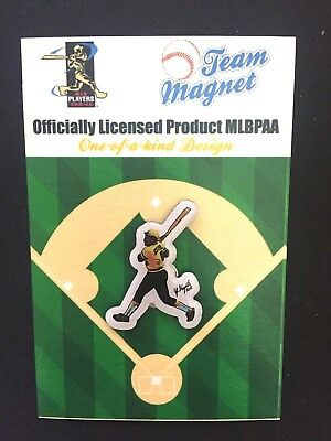 Pittsburgh Pirates Willie Stargell Reversnadel & Magnet-collectible #1 Pops Bequemes GefüHl Fanartikel Baseball & Softball