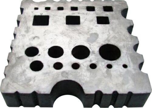 BECMA Lochplatte Schmiedeplatte Richtplatte 30kg