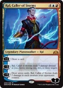 MTG-Ral-Caller-of-Storms-Guilds-of-Ravnica-Mythic-Rare-Multi-FOIL-NM-M-PK-233