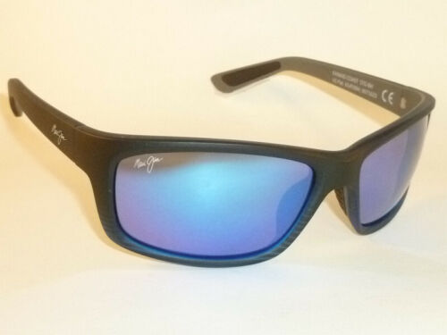New Authentic  Polarized  MAUI JIM KANAIO COAST  Sunglasses B766-08C Blue Lenses