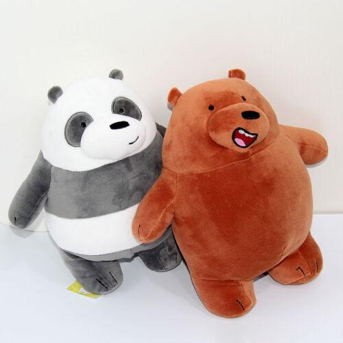 Neu We Bare Bären Peluches Grizzly Panda Eis Plüsch Puppe Kinderspielzeug 30cm