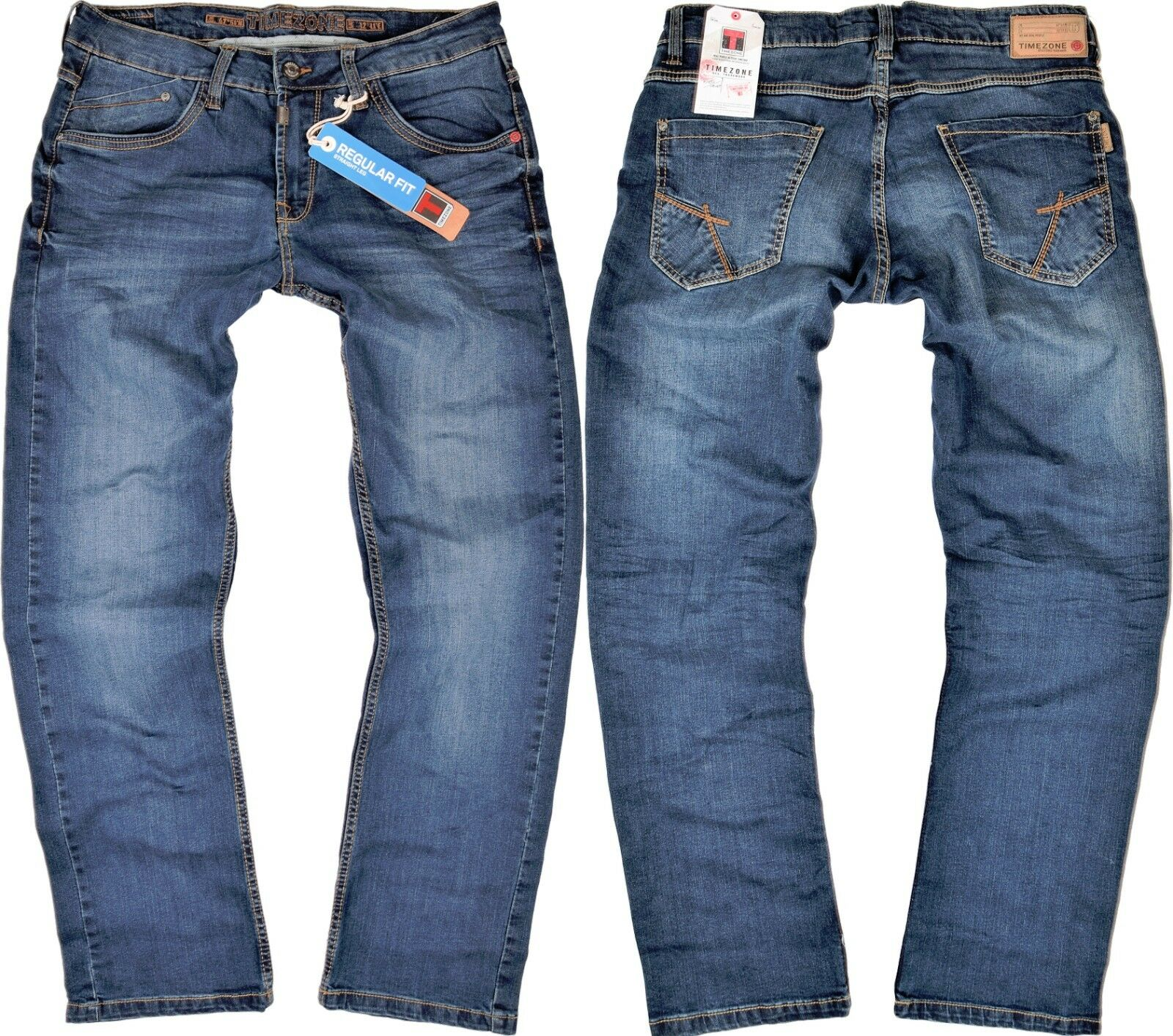 Timezone Herren Jeans Jason TZ 3977 blau Jeanshose Hose Angebot rotuziert  | Speichern