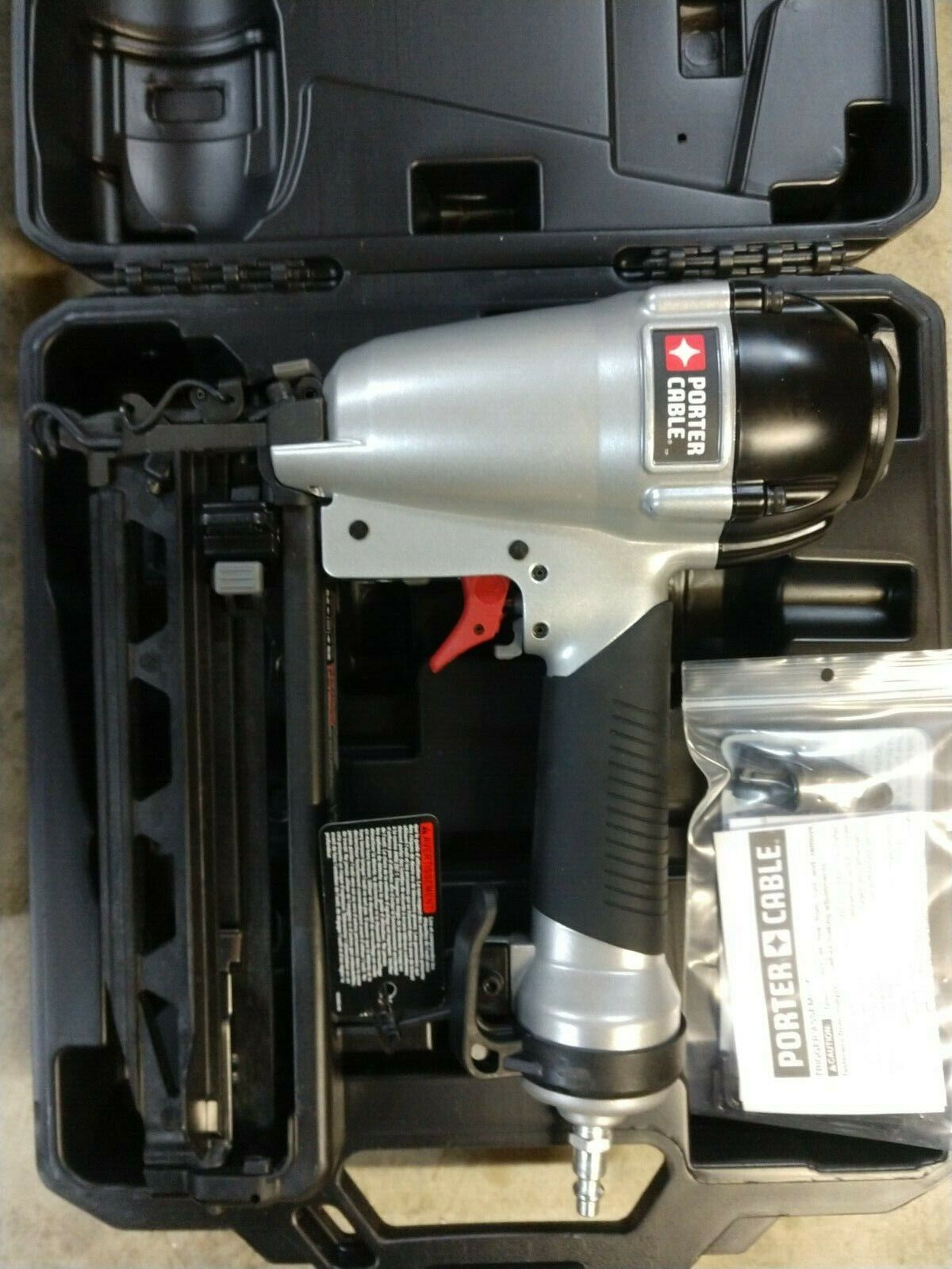 Porter Cable 16 -Gauge 2 1/2 Straight Finish Nailer Model# FN250C. Available Now for 79.99