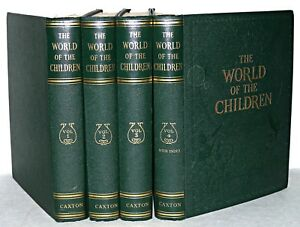 The-World-of-the-Children-Four-Vol-Set-Stuart-Miall-Caxton-1951